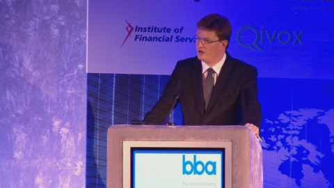 MP Danny Alexander and European Commissioner Michel Barnier debate the UK's role in the EU banking