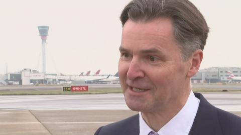 Heathrow CEO: 100% confident runway will go ahead