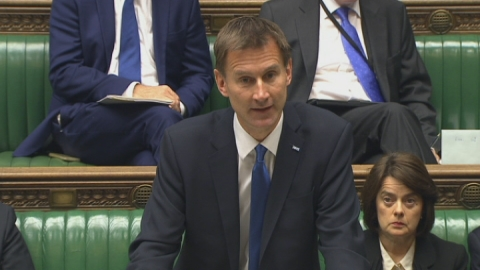 Hunt apologises to victims of Savile abuse