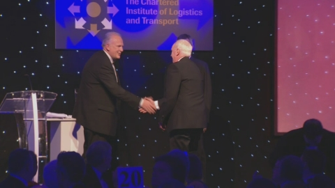John Neill is awarded the 2013 Sir Robert Lawrence Award