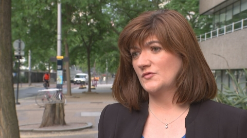 Education Secretary Nicky Morgan announces GCSE reform