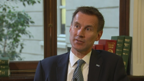 Health Secretary: Clampdown on agency staff spend