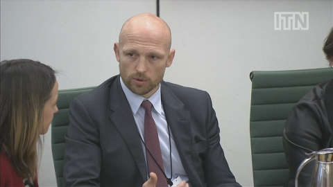 Matt Dawson speaks to MPs about son's meningitis