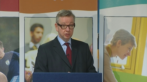 Michael Gove: State schools in England must be best in world