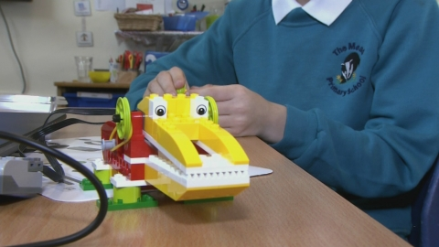 Lego Education is encouraging children's imagination to help improve results by building them
