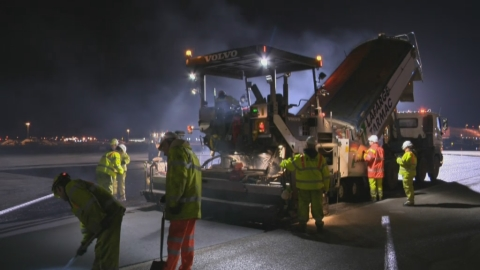With only a four hour window, Lafarge Tarmac show how to ensure the runway is ready for action