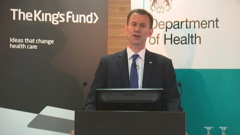 Jeremy Hunt: Doctors 'must back seven-day working'