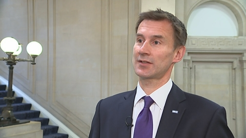 Hunt vows to tackle unreporting of safety incidents in hospitals