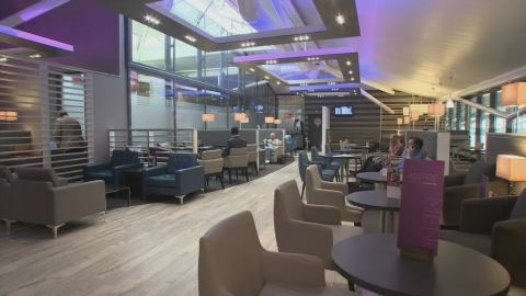 Airports now offering first-class airport lounges to all passengers, with Servisair