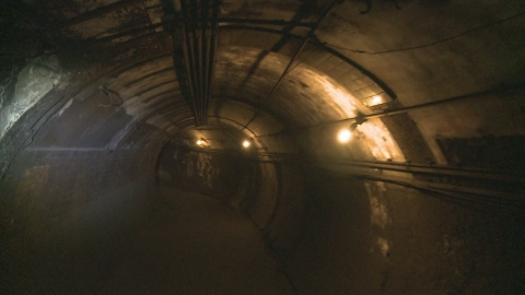 Churchill's secret underground blitz bunker revealed