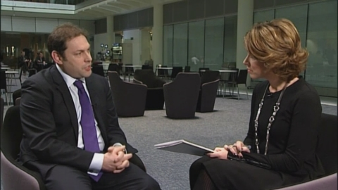 Darren Caplan tells Natasha Kaplinsky that ITN partnership will bring the airport industry to life