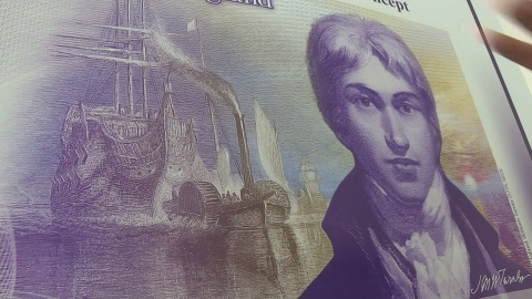 Turner named as new face of £20 note