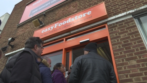 easyJet takes on food shopping with new store