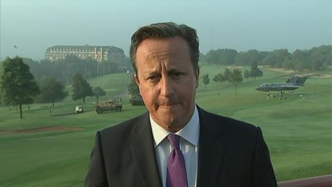 Cameron: Ashya King story struck a chord