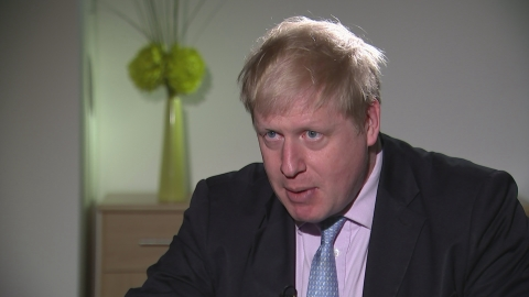 Boris blames cyclist deaths on EU