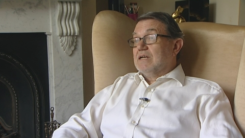Patient says organ transplant has transformed his life