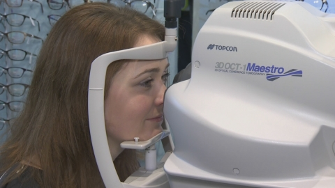 New camera technology from Topcon helping to detect eye and health problems