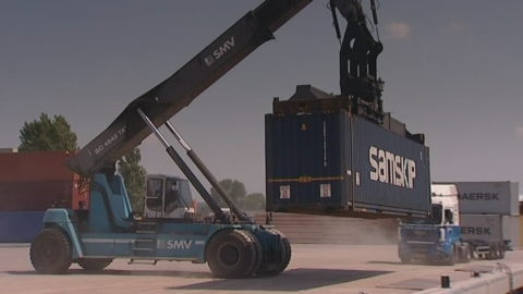 Rotterdam based Samskip offers cost-efficient, environmentally friendly transportation