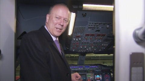 Grayling: Deeply sorry for those affected by third runway