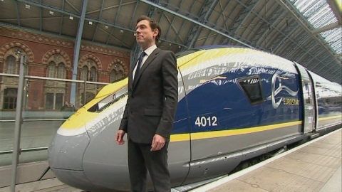 Inside the new Eurostar 200mph train