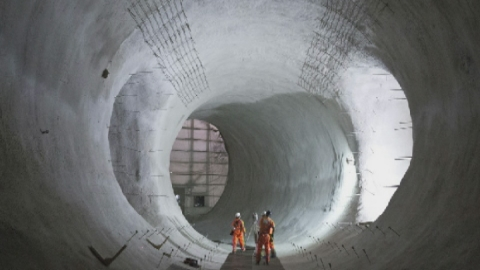 Crossrail: This is what subterranean London looks like
