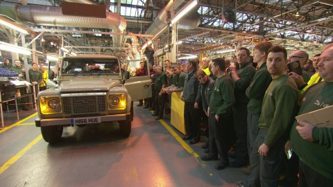 Last Land Rover Defender rolls off production