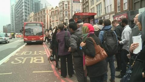 Tube strike: Commuters suffer 'severe disruption'