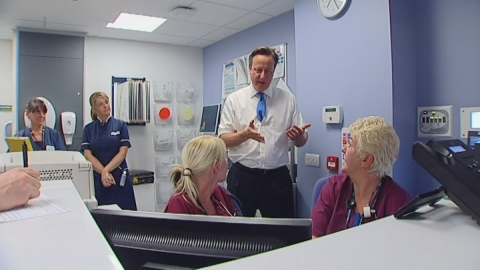 PM calls for 'changes in practice' to help struggling A&Es