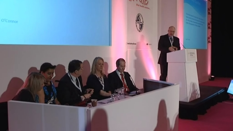 Barry Cockcroft leads a panel discussion on direct access