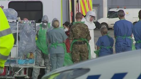 Nurse flown to London for 'late complication' from Ebola