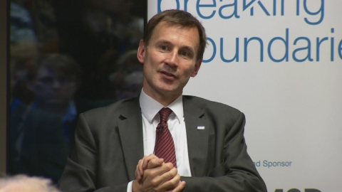 Transparent standards are the key to improvements says Secretary of State for Health Jeremy Hunt