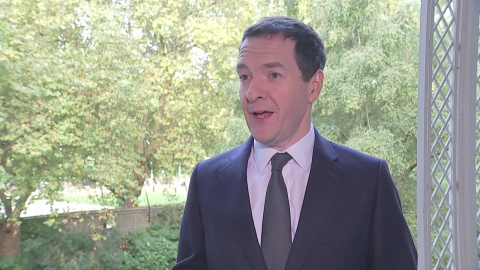 Osborne on negative inflation rates