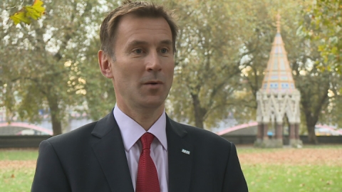 Health Secretary: 'There's a really bright future for NHS'