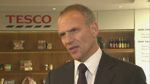 Tesco Boss confirms £250m mistake in half-year profit