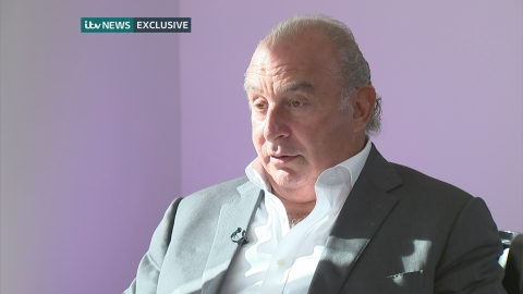 Philip Green: I'm sad and very very sorry to BHS workers
