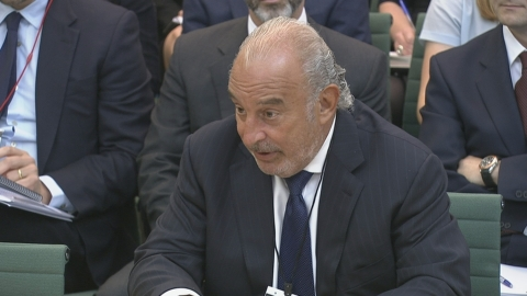 Sir Philip Green in fiery six hour hearing with MPs