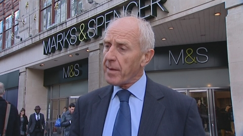 M&S customer base 'getting older' as profits fall