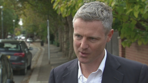 Zac Goldsmith says Heathrow could trigger by-election