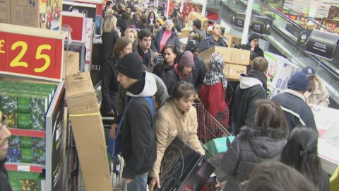 Black Friday hits the UK