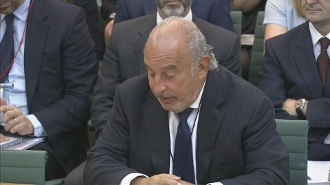 Sir Philip Green apologises to BHS workers