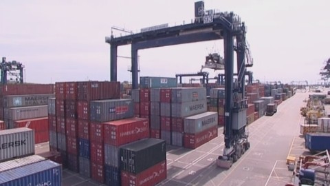 Felixstowe Port, operated by Hutchison Ports, is the hub that connects us to the rest of the world