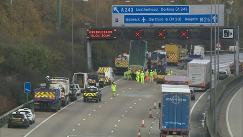 AA voices concern over M25 pothole