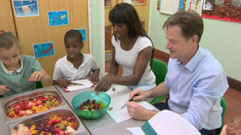 Fatty school meals crackdown