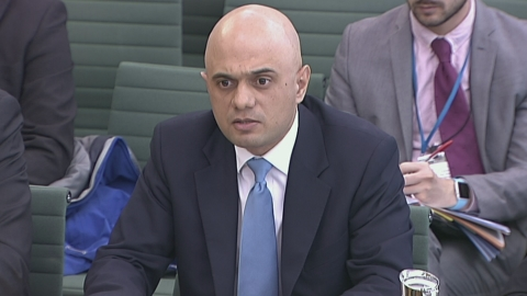 Sajid Javid: 'in hindsight' should have flown to Mumbai