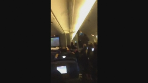 Terrifying video of turbulence that injured 14