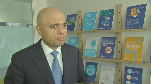 Javid: Government has a 'role' to play in Port Talbot sale