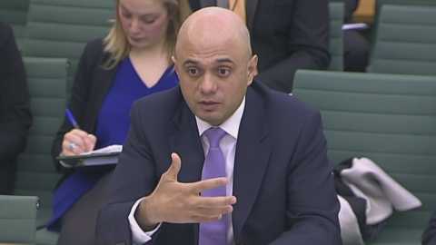 Business Secretary Sajid Javid has arrived in Port Talbot to meet workers