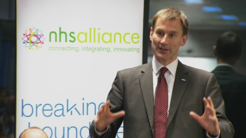 The NHS is working toward a better, stronger future according to Jeremy Hunt
