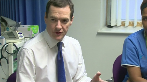 NHS to get cash boost in Osborne's Autumn Statement