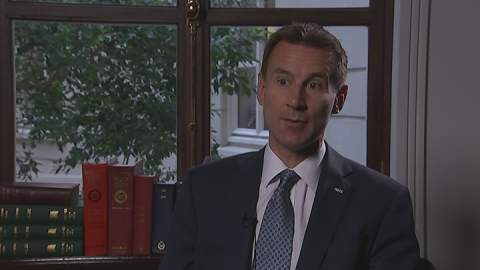 Health Secretary: Driving to end 12-month NHS waits